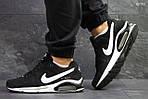 Мужские кроссовки Nike Air Max (черно-белые), фото 6