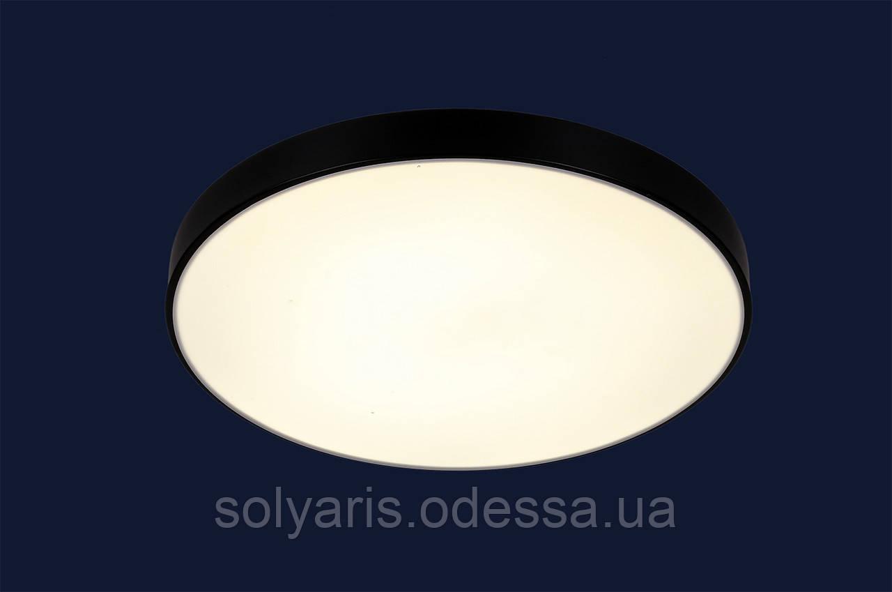 Светодиодная люстра 752L36 BK (40см)