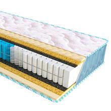 Ортопедичний матрац з незалежним пружинним блоком Extra Memo Fitness Sleep&Fly ЕММ