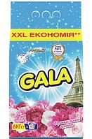 Стиральный порошок Gala Французский аромат, для белых и цветного белья, 6 кг