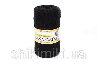 Эко шнур  Cotton Macrame, цвет Черный