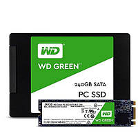 Накопитель SSD WESTERN DIGITAL Green M.2 120 GB (WDS120G2G0B)