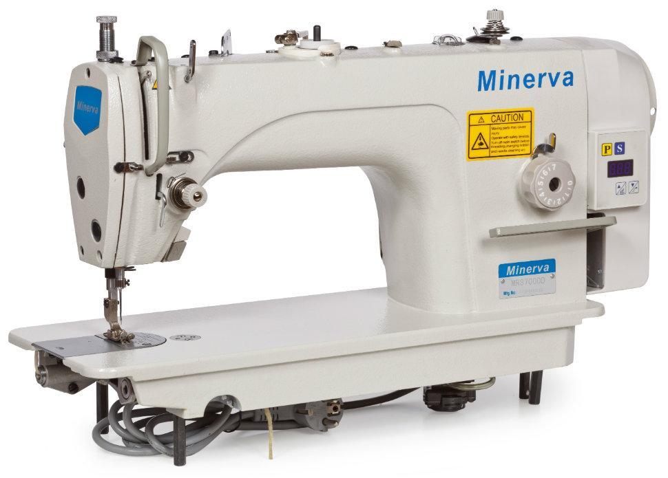Minerva MR8700DD-7, промышленная швейная машина с встроенным сервомотором, для средних тканей