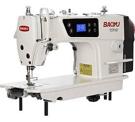 Baoyu GT-180M, промышленная швейная машина с встроенным энергосберегающим сервомотором, для легких тканей