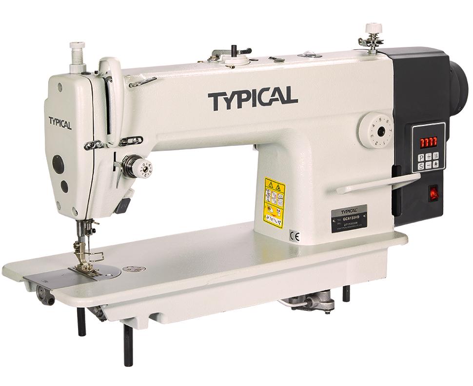 Typical GC 6150HD, промышленная швейная машина с встроенным сервомотором, для средних и тяжелых тканей