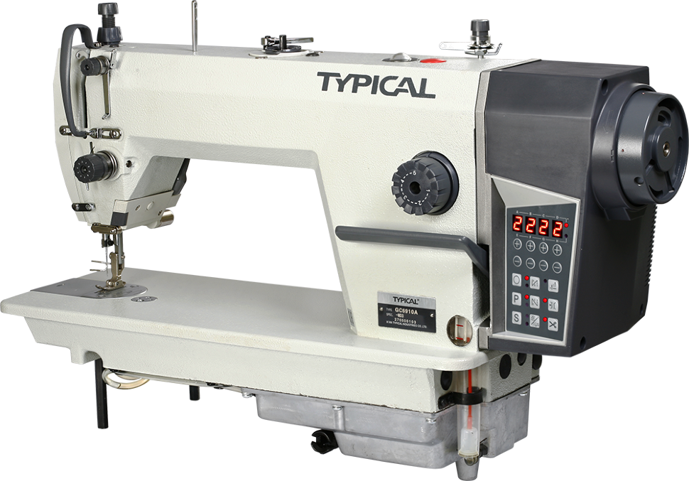 Typical GC 6910A-HD3, компьютерная промышленная швейная машина с встроенным сервомотором и полусухой головой