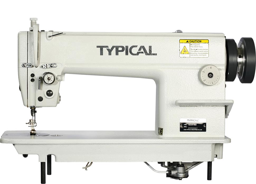 Typical GC 6160, беспосадочная промышленная швейная машина для легких и средних тканей
