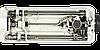 Typical GC 6160, беспосадочная промышленная швейная машина для легких и средних тканей, фото 4