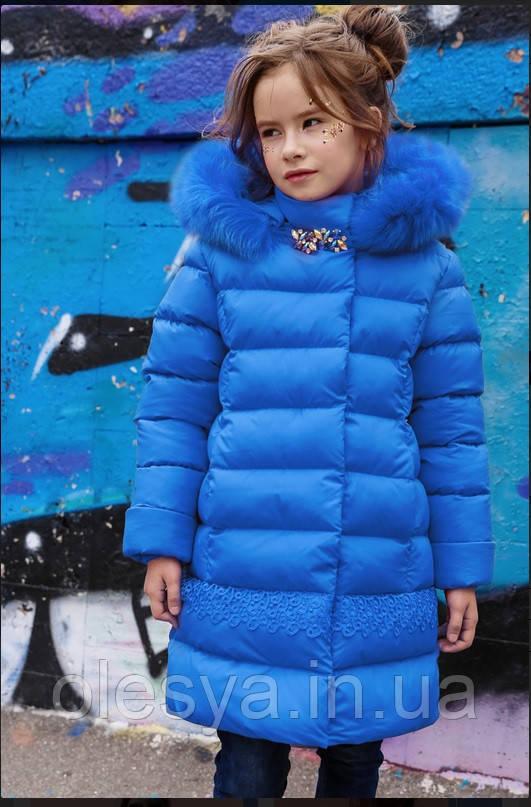 Пальто детское Деника ТМ Нью Вери (Nui  Very)- Размеры 116- 158