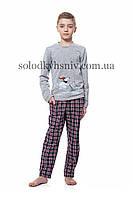 Піжама хлопчик Ellen Зимові Веселощі штанці-підчос 134-158 - 036/001