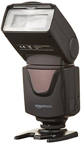 Вспышка AmazonBasics DF500 для цифровых зеркальных камер Canon,Nikon,Fujifilm,Samsung