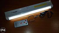 Фонарь аккумуляторный дневн света Kingblaze GD-1036S+пульт