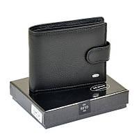Мужской кошелек Dr. Bond RFID из натуральной кожи. Кожаное портмоне черный , фото 1