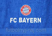 Полотенце махровое банное с символикой FC Baern