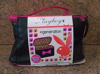 Подарунковий набір Playboy Generation (туалетна вода+гель для душу+косметичка)