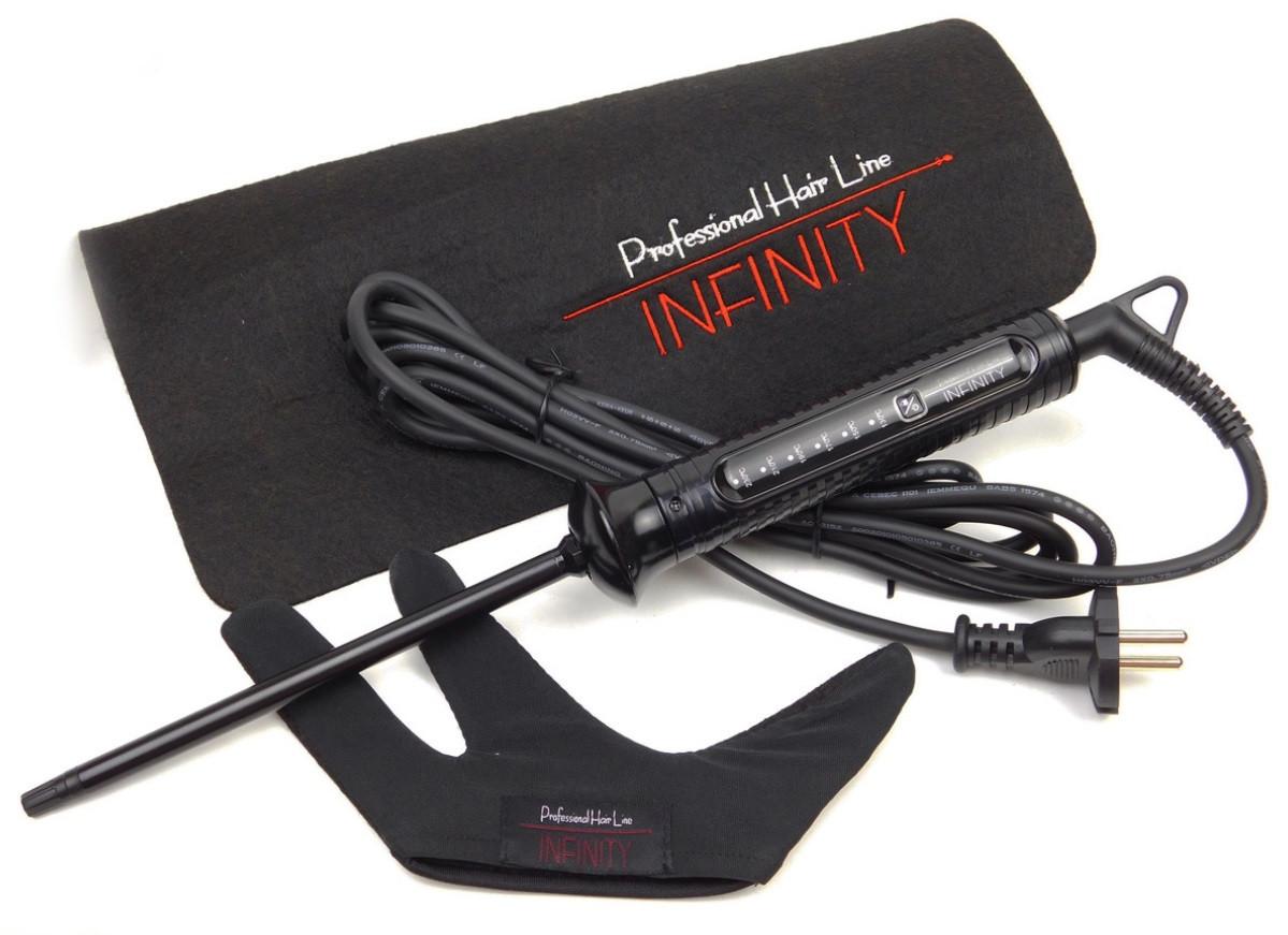 Плойка для афрокудрей Infinity Professional Narrow Curl 9 мм
