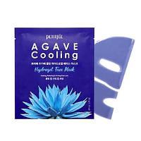 Гидрогелевая охлаждающая маска для лица с экстрактом агавы PETITFEE Agave Cooling Hydrogel Face Mask