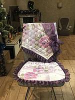 Сидушка на стул со спинкой