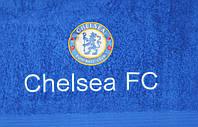 Полотенце махровое банное с символикой FC Chelsea
