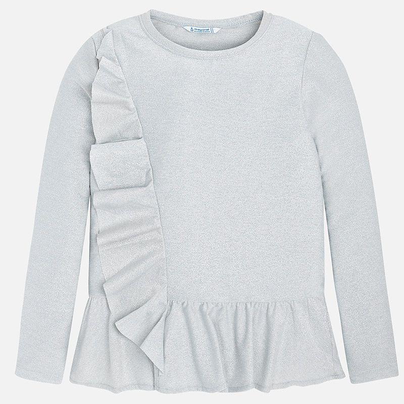 Нарядная футболка для девочки 7048 26 MAYORAL - Интернет-магазин