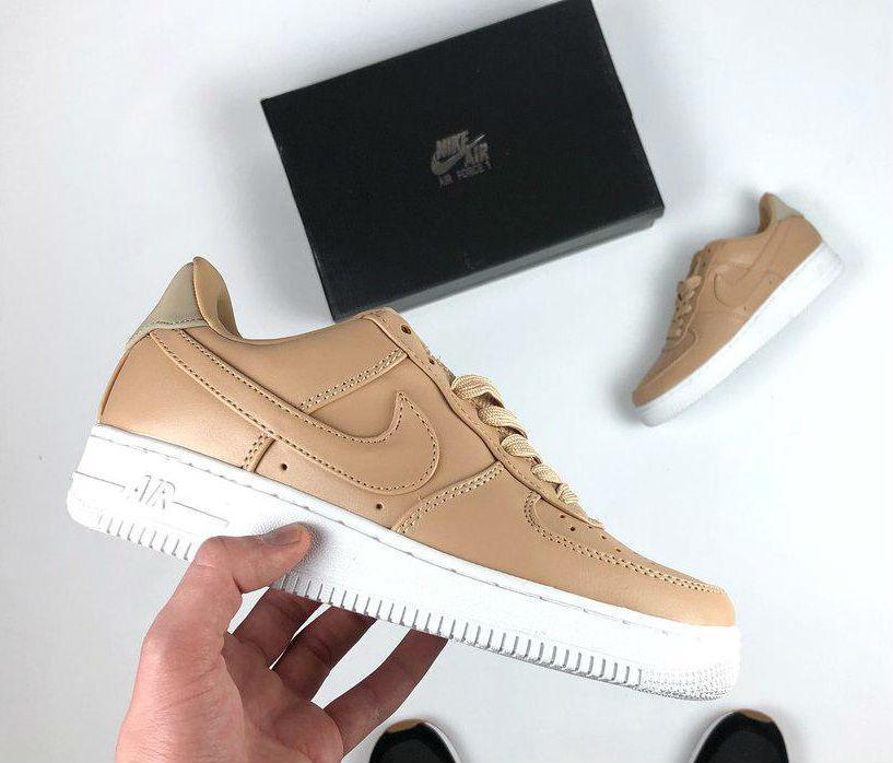 Nike Air Force 1 Low Vachetta Tan   Beige   кроссовки женские  бежевые f5023f1aec8