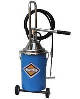 Установка для раздачи консистентных смазок с ручным приводом с емкостью бака 13кг