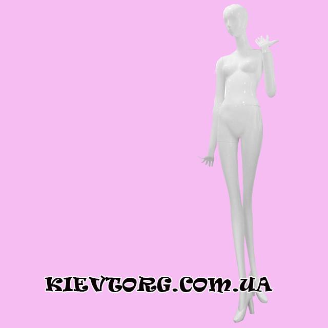 Манекен женский белый абстрактный DN-10