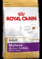 Сухой корм (Роял Канин) Royal Canin Maltese Adult 0.5 кг для собак породы мальтийская болонка в возрасте старше 10 месяцев