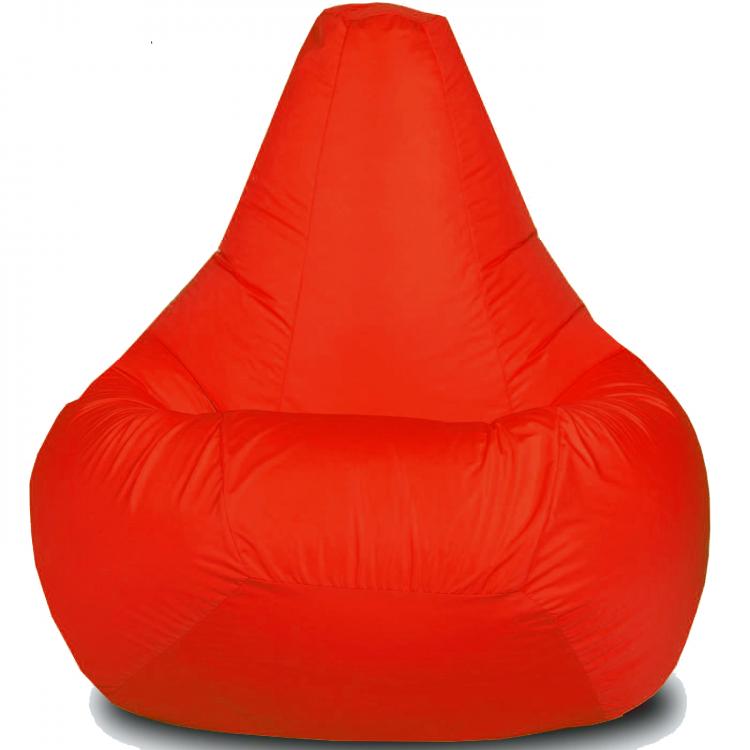 Кресло-мешок Груша Хатка детская красная