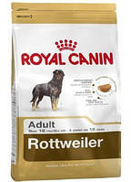 Сухой корм (Роял Канин) Royal Canin Rottweiler Adult 3 кг для собак породы ротвейлер