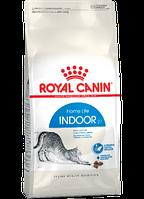 Сухой корм (Роял Канин) Royal Canin Indoor 0.4 кг для взрослых кошек не покидающих помещение