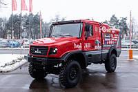 Каким будет первый спортивный капотный грузовик МАЗ для Дакара
