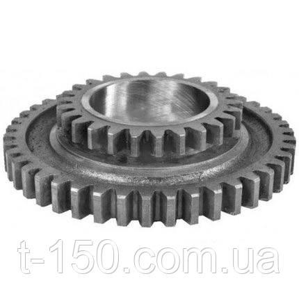 Шестерня промежуточная КПП (Z=43/26) трактора МТЗ-80 (Ф50-1701056Б)