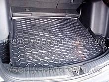 Коврик в багажник HONDA CR-V с 2017 г. (AVTO-GUMM) пластик+резина