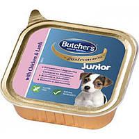 Butcher's gastronomia Junior (Бучерс Бейсик Юниор) курица с ягненком, 150 г