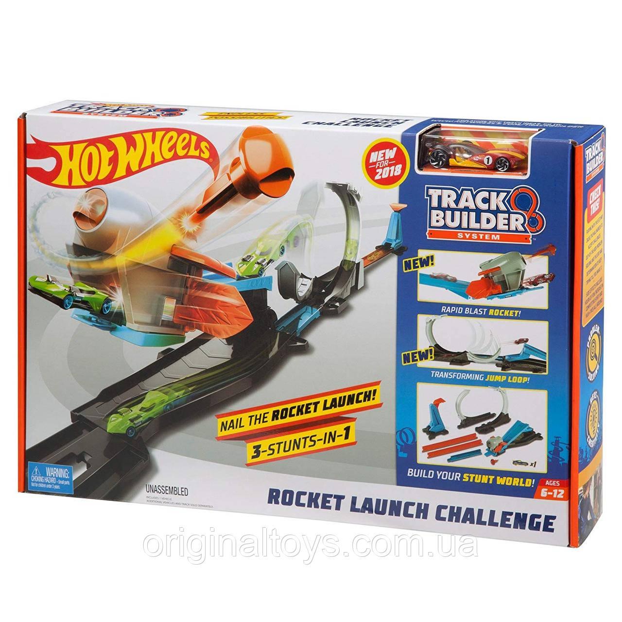 Игровой трек Hot Wheels Запуск ракеты Rocket Launch Challenge FLK60