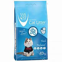 VanCat (ВанКэт) Fresh наполнитель для туалета бентонитовый, 10 кг.