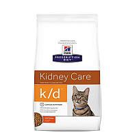 Hill's Prescription Diet k/d Kidney Care корм для кошек с курицей 0.4 кг