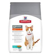 Hill's Science Plan Young Adult Sterilised Cat корм для кошек с тунцом 3,5 кг