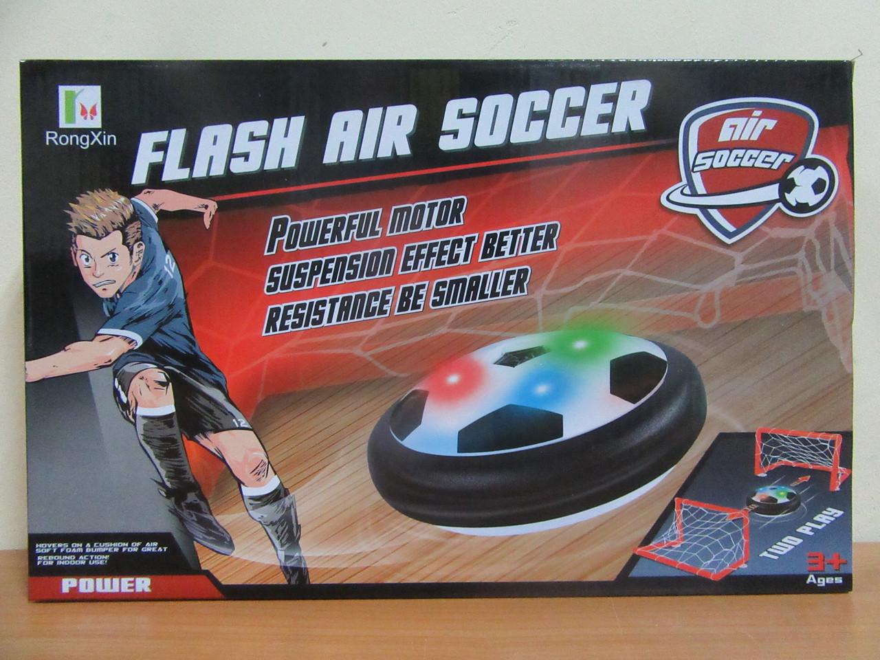 Аэрофутбол RX3220C, свет, музыка (HoverBall, ховербол, аеромяч)