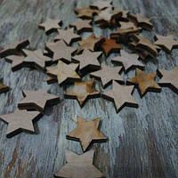 Деревяные звезды