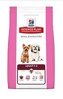 Hill's Science Plan Adult Small & Miniature корм для собак миниатюрных пород с курицей и индейкой 6,5 кг