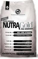 NUTRA GOLD ProBreeder  10кг супер-премиум корм для собак всех пород на всех стадиях жизни