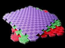 Коврик-пазл EVA SportMax 200х150 см, 12 элементов (Турция) , фото 2