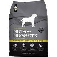 NUTRA NUGGETS Professional  3кг корм супер-премиум класса для собак служебных или беременных