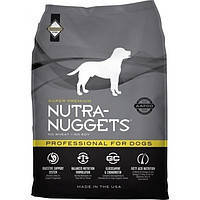 NUTRA NUGGETS Professional  7.5кг корм супер-премиум класса для собак служебных или беременных