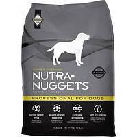 NUTRA NUGGETS Professional 15кг корм супер-премиум класса для собак служебных или беременных