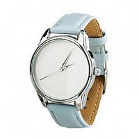 Часы ZiZ Минимализм (ремешок нежно - голубой, серебро) + дополнительный ремешок (4600163), фото 1