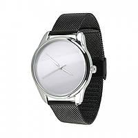 Часы ZiZ Минимализм (ремешок из нержавеющей стали черный) + дополнительный ремешок (5000189), фото 1