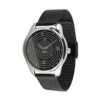 Часы ZiZ Планеты (ремешок из нержавеющей стали черный) + дополнительный ремешок (5013289), фото 1